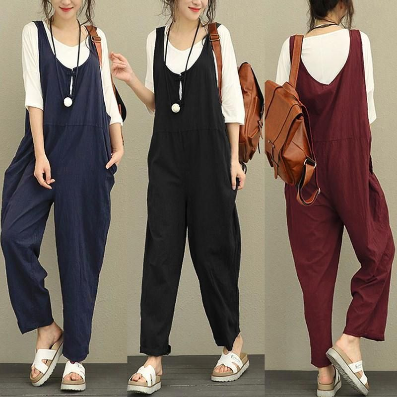 d192fd8556fa Amity Cotton Jumpsuit (3 Colors) in 2019