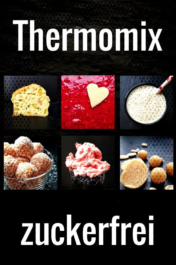 Would you like to cook and bake sugar-free in the Thermomix? Then you will find many recipes for th