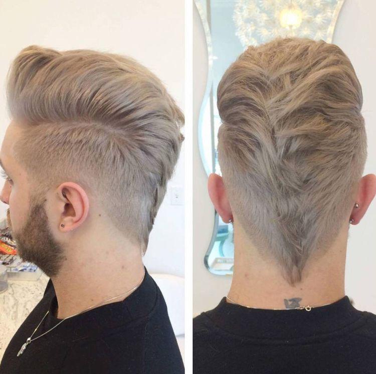Pin On Fohawk Haircut