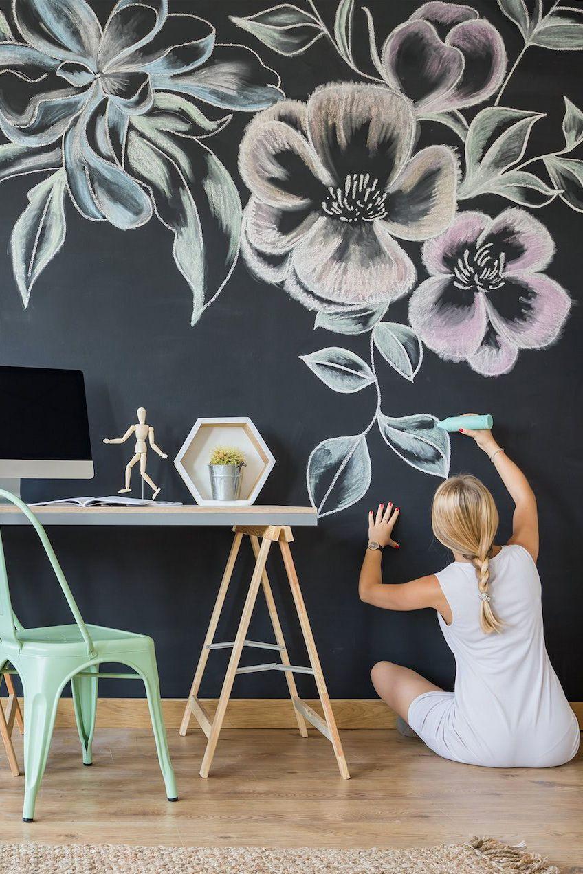 Chalkboard Wall Decal Diy Extra Large Chalkboard Sticker Large