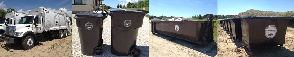Hiawatha Shores Recycling Disposal Hiawatha Shores Recycling Disposal Is A Local Family Owned Full Serv Wood Crafts Dumpster Rental Recycling Services