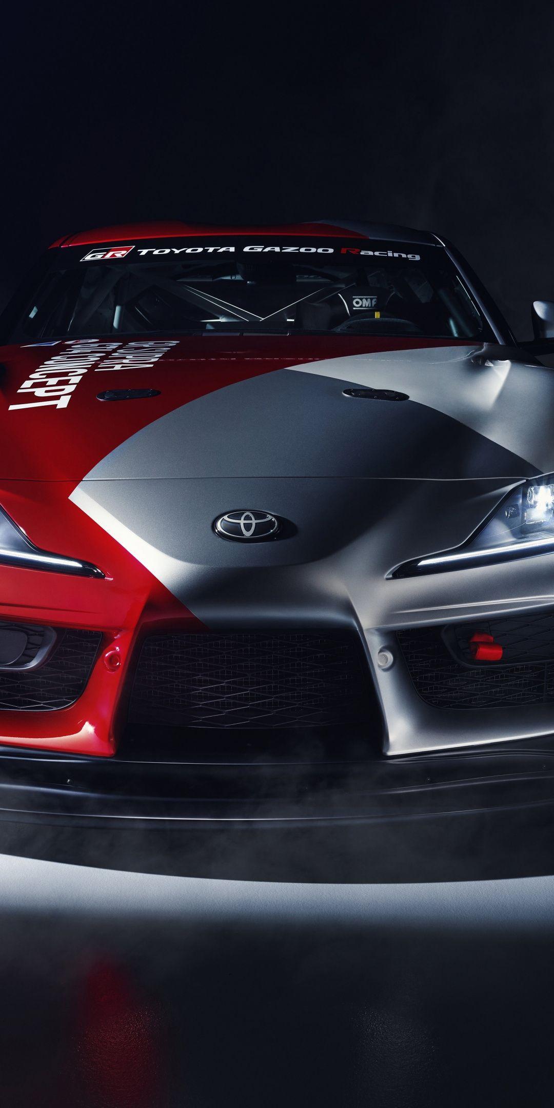 Toyota Gr Supra Gt4 Concept Car 2019 1080x2160 Wallpaper Concept Cars Toyota Supra