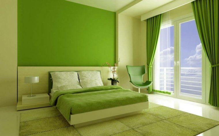 Chambre Verte Vert D Eau Verte Et Blanche Ou Vert Gris In 2020