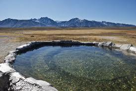 Hilltop Hot Springs, Sierra Nevada, California