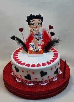 Astounding Betty Boop Birthday Cake Happy Birthday Betty Boop Birthday Personalised Birthday Cards Veneteletsinfo