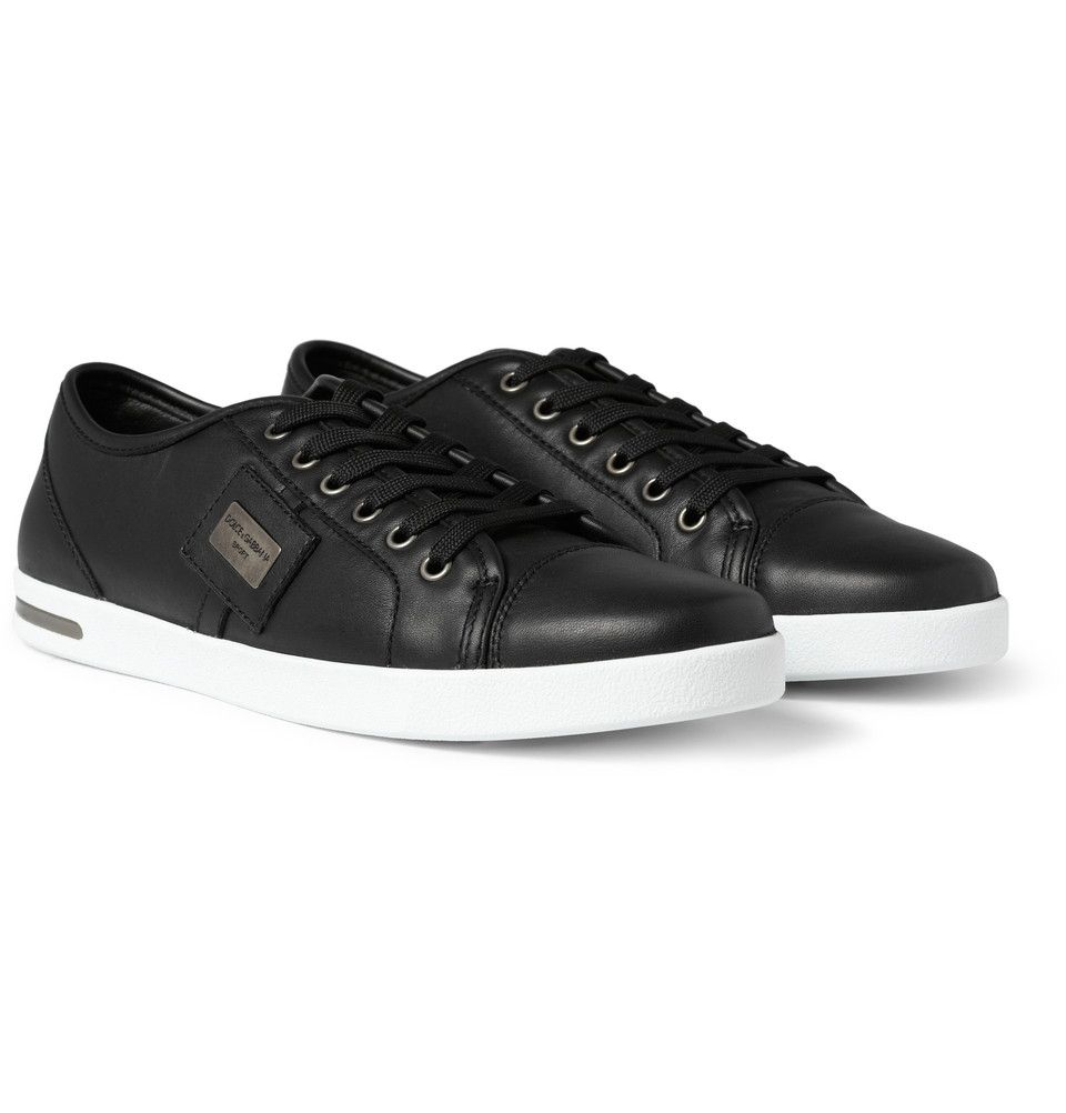 Dolce & Gabbana Low Top Leather Sneakers | MR PORTER