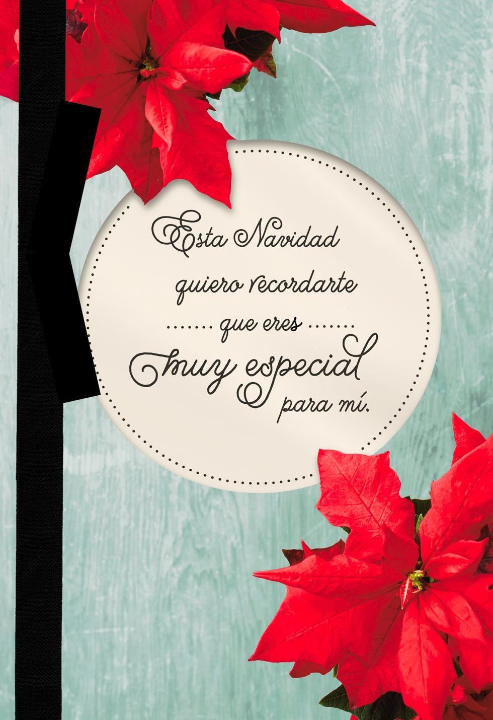 Poinsettias Spanish Language Christmas Card Christmas Cards Christmas Card Verses Business Christmas Cards