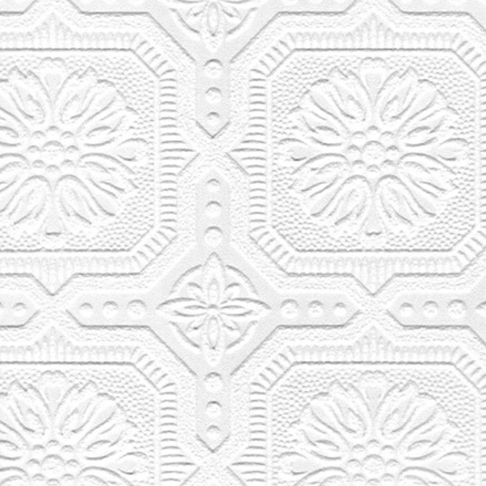 "Flora 33' x 20.5"" Damask 3D Embossed Wallpaper & Reviews"