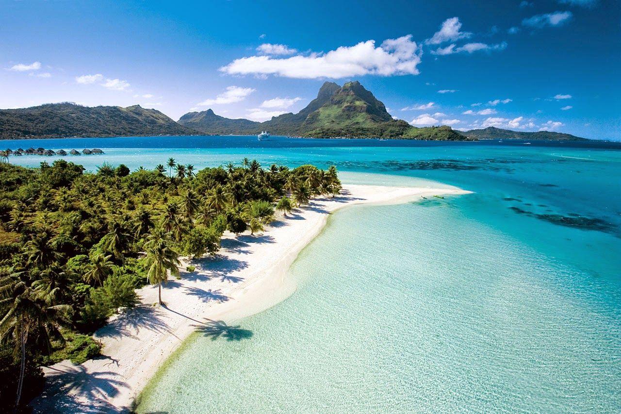 Matira Beach, Bora Bora, Tahiti