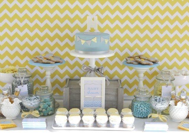 inspiration sweet baby elephant dessert table