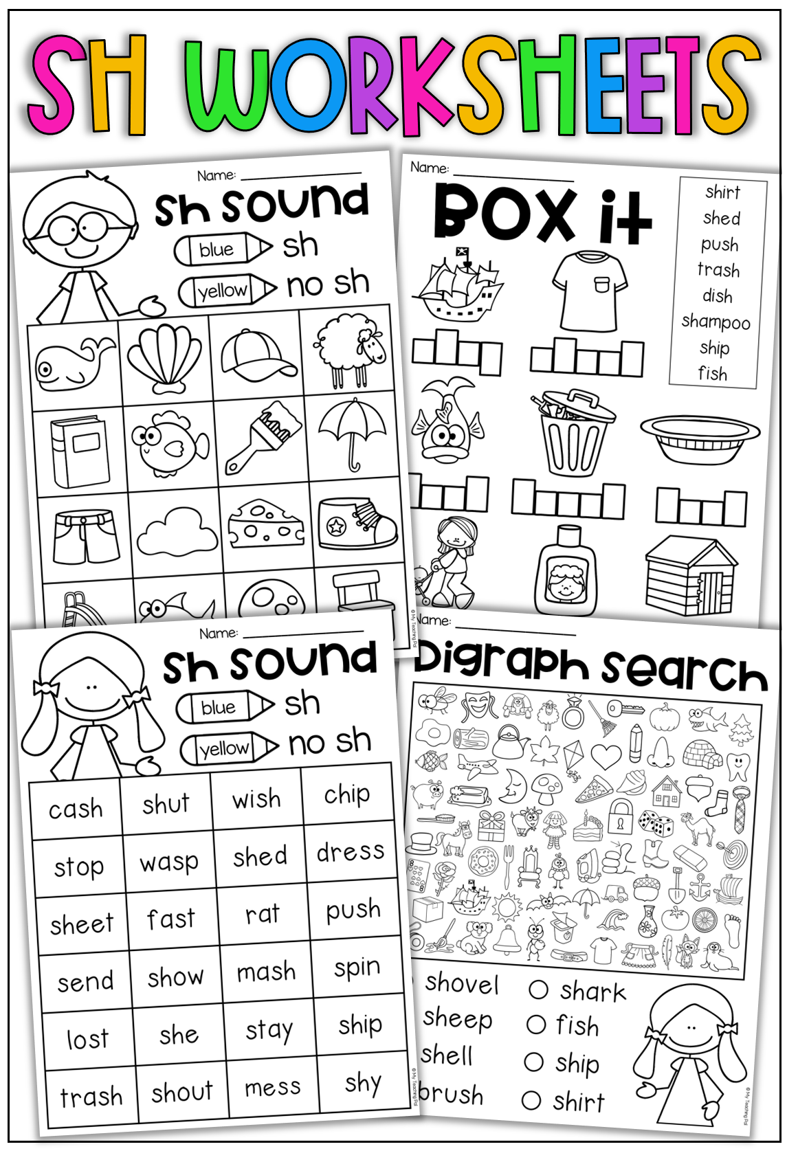 Sh Worksheet Packet