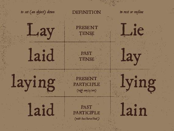 Lüge Englisch