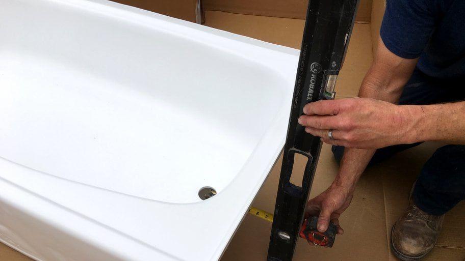 How To Install A Bathtub Bathtub Installing Bathtub Shower