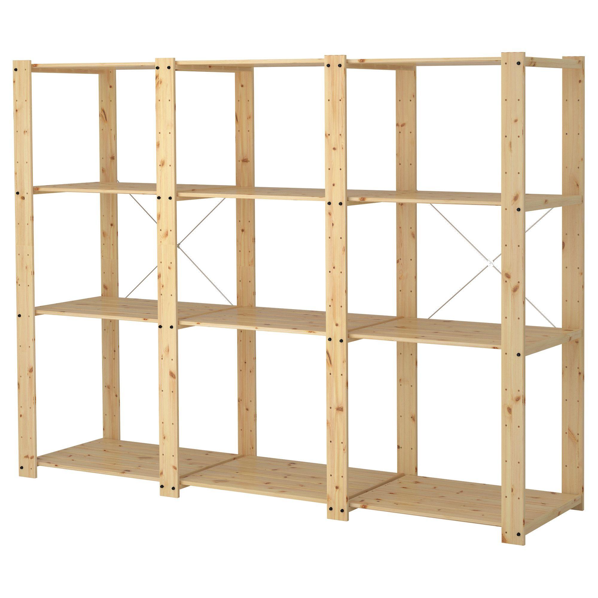 Pin On Garage Storage Shelves: Möbler, Inredning Och Inspiration