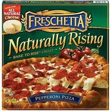 """Frozen or ready to bake pizza Christmas gift idea - """"Warm up to a wonderful Holiday Season """"topped"""" with Christmas cheer!"""