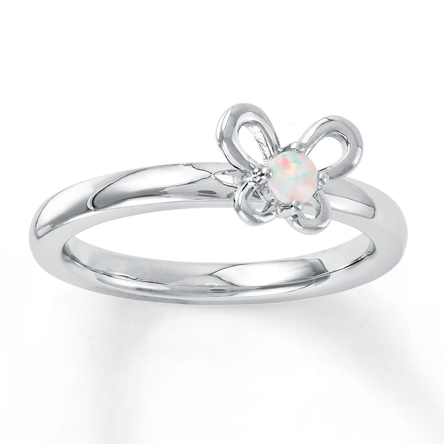 Opal Butterfly Ring Jared Jewelers Jewelry Pinterest