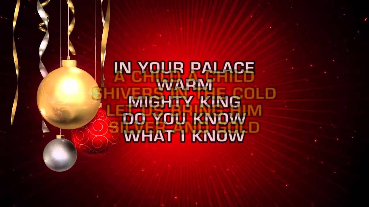 Traditional Christmas Songs - Do You Hear What I Hear? (Karaoke ...