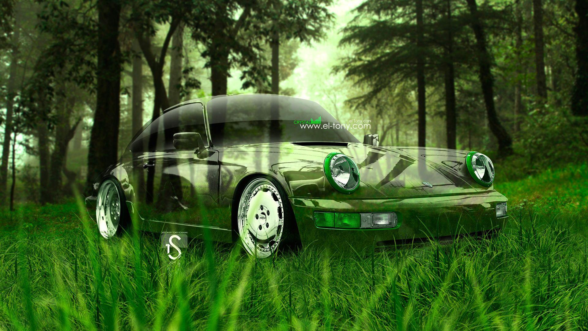 Nice Mazda RX 7 JDM Tuning 3D Crystal Nature Car 2015 Green Grass Style 4K Wallpapers Design By Tony Kokhan Www.el Tony.com Image    El Tony.com   Pinterest   Jdm ...