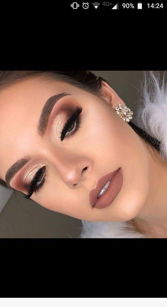 Superbes idées de maquillage pour les yeux #idees #maquillage #superbes Great eye makeup ideas #makeupprom