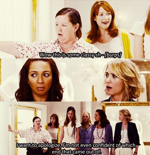 one of my favorites. (bridesmaids)