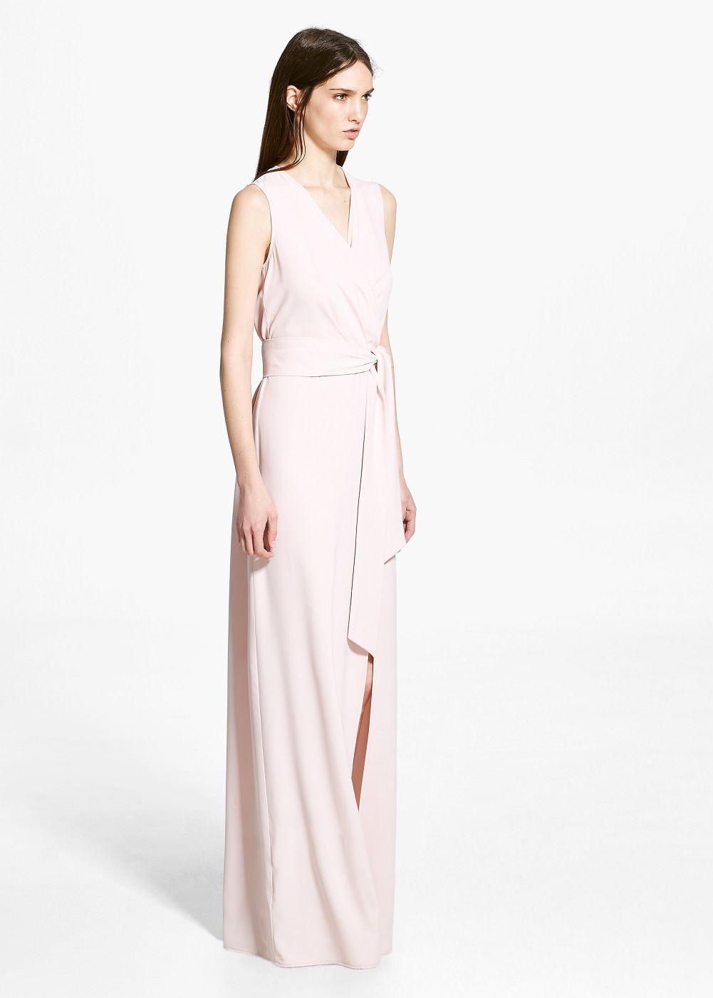 21a5b91027 Vestido comprido cruzado - Vestidos de Mulher