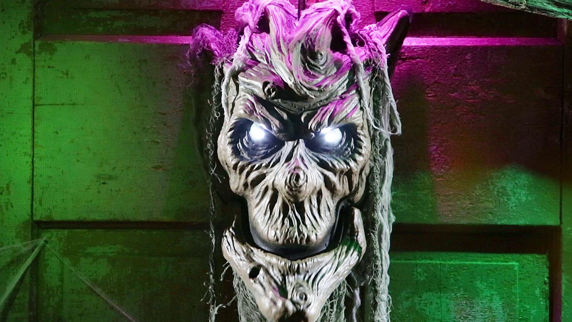 Talking Spooky Tree Head