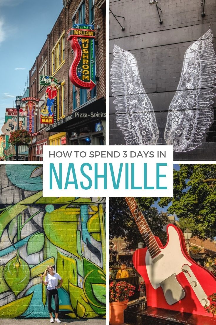The perfect Nashville itinerary for three days in the Music City #usatravel
