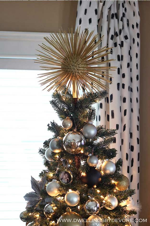 Diy Christmas Tree Topper Ideas For This Holiday Season Diy Projects Diy Tree Topper Christmas Tree Toppers Unique Diy Christmas Tree Topper
