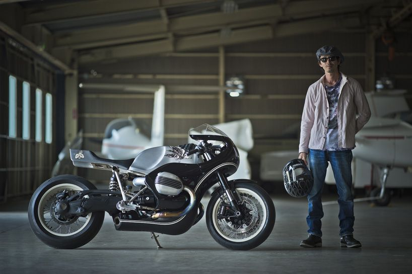 BMW motorrad R nineT customized by four expert japanese