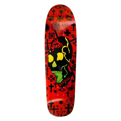 Vision Guardian Old Ghost Modern Deck Red 8 875 X 32 25 Modern Deck Ghost Modern