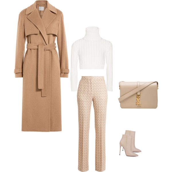 Work mode by fiercefashi0nista on Polyvore featuring polyvore, fashion, style, Calvin Klein Collection, Jason Wu, Missoni, Akira Black Label and Yves Saint Laurent