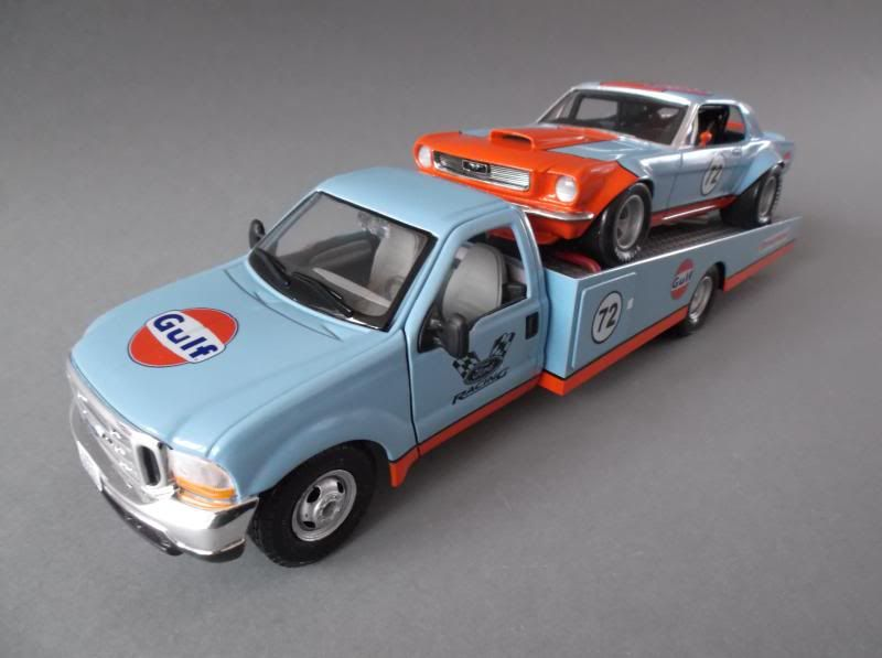 Randy Ayers' Nascar Modeling Forum :: View topic - Gulf Mustang with