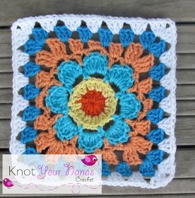 Knot Your Nana's Crochet: Granny Square CAL (Week 6)