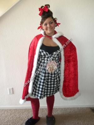 Coolest Homemade Cindy Lou Who Halloween Costume Cindy lou - good halloween costumes ideas