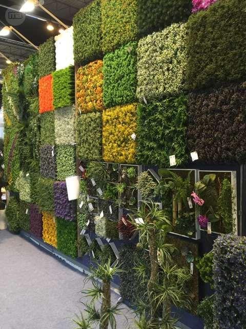 Decoracion preciosos y maravillosos jardines verticales for Decoracion con plantas para jardin