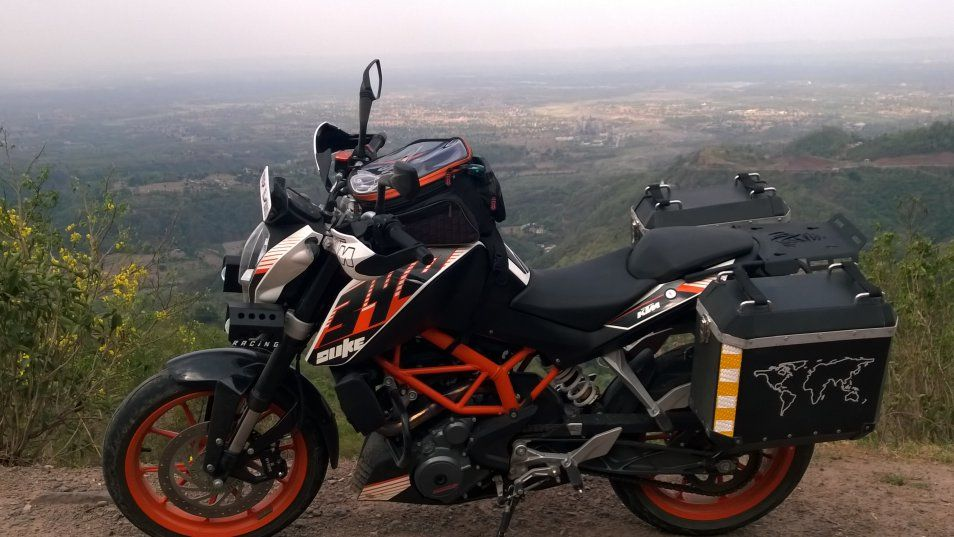what modifications would you carry out on your ktm duke 390 page