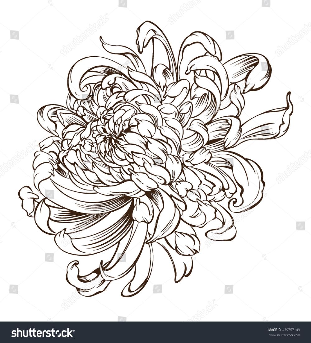 Skilled Japanese Chrysanthemum Tattoos Chrysanthemum Japanese Tattoo Chrysanthemum Tattoo Japanese Flower Tattoo Japanese Tattoo