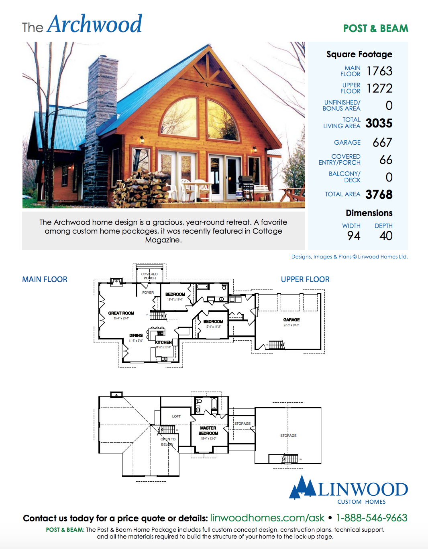 Designs Linwood Homes Cottage Plan House Plans Linwood Homes