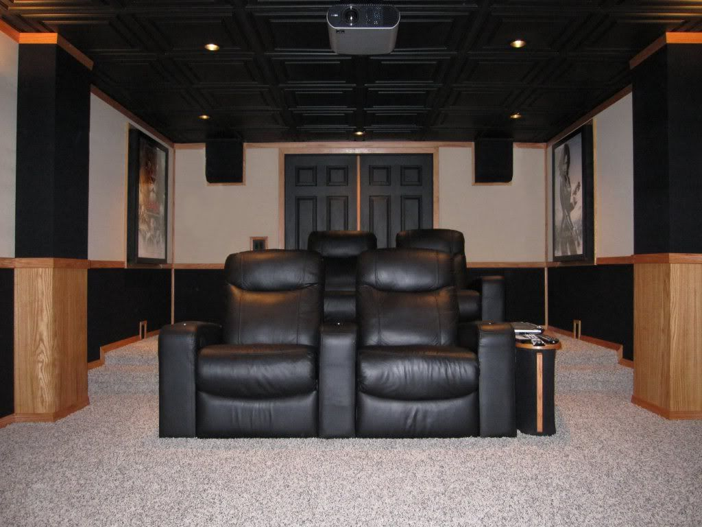 Image Result For Rear Soffit Home Theater