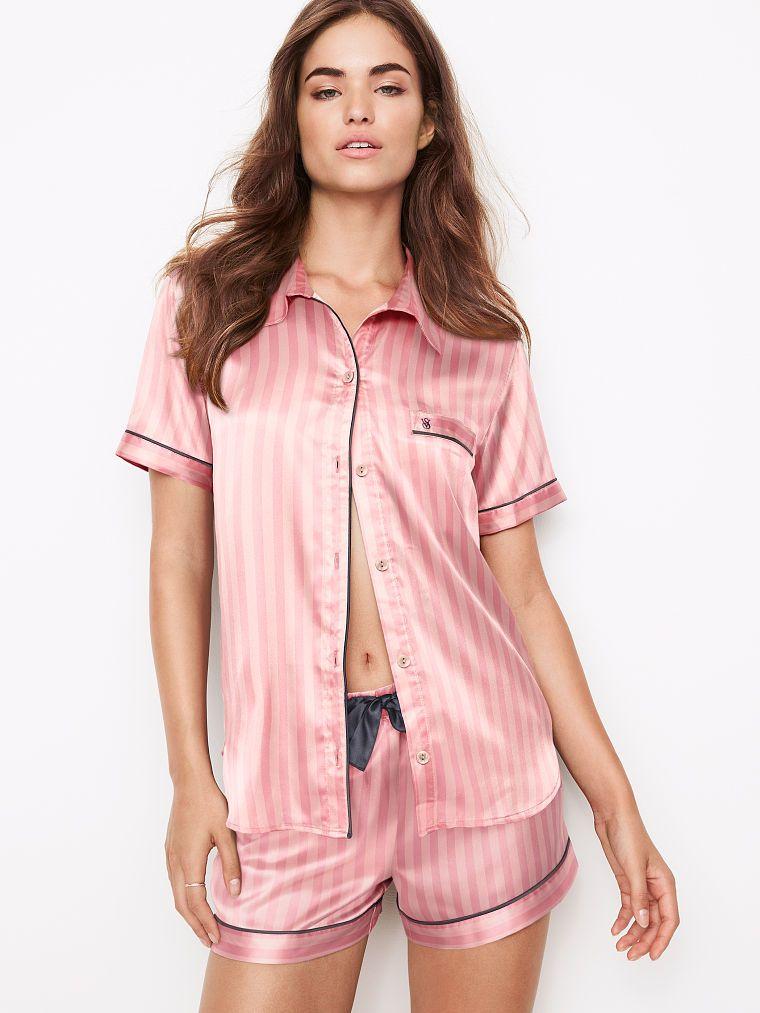 176447d4d6861 Afterhours Satin Boxer PJ Set - Victoria's Secret | clothes in 2019 ...