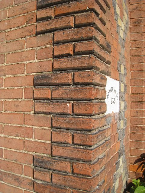 Brick Quoin Detail Rother House Brick Architecture