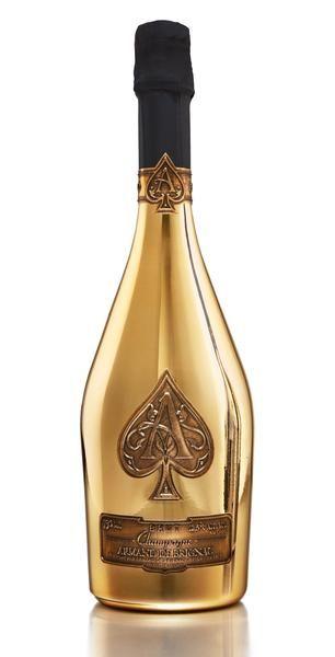 Armand De Brignac Ace Of Spades Gold Brut Champagne France 750ml Armand De Brignac Champagne Ace Of Spades Rose
