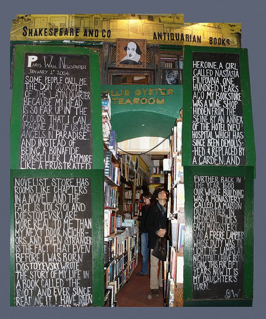 Shakespeare and Co - Antiquarian Books, Paris