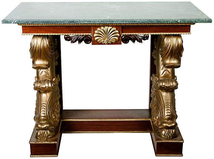 Marble-Top Console - La Maison Supreme in 2018 Products