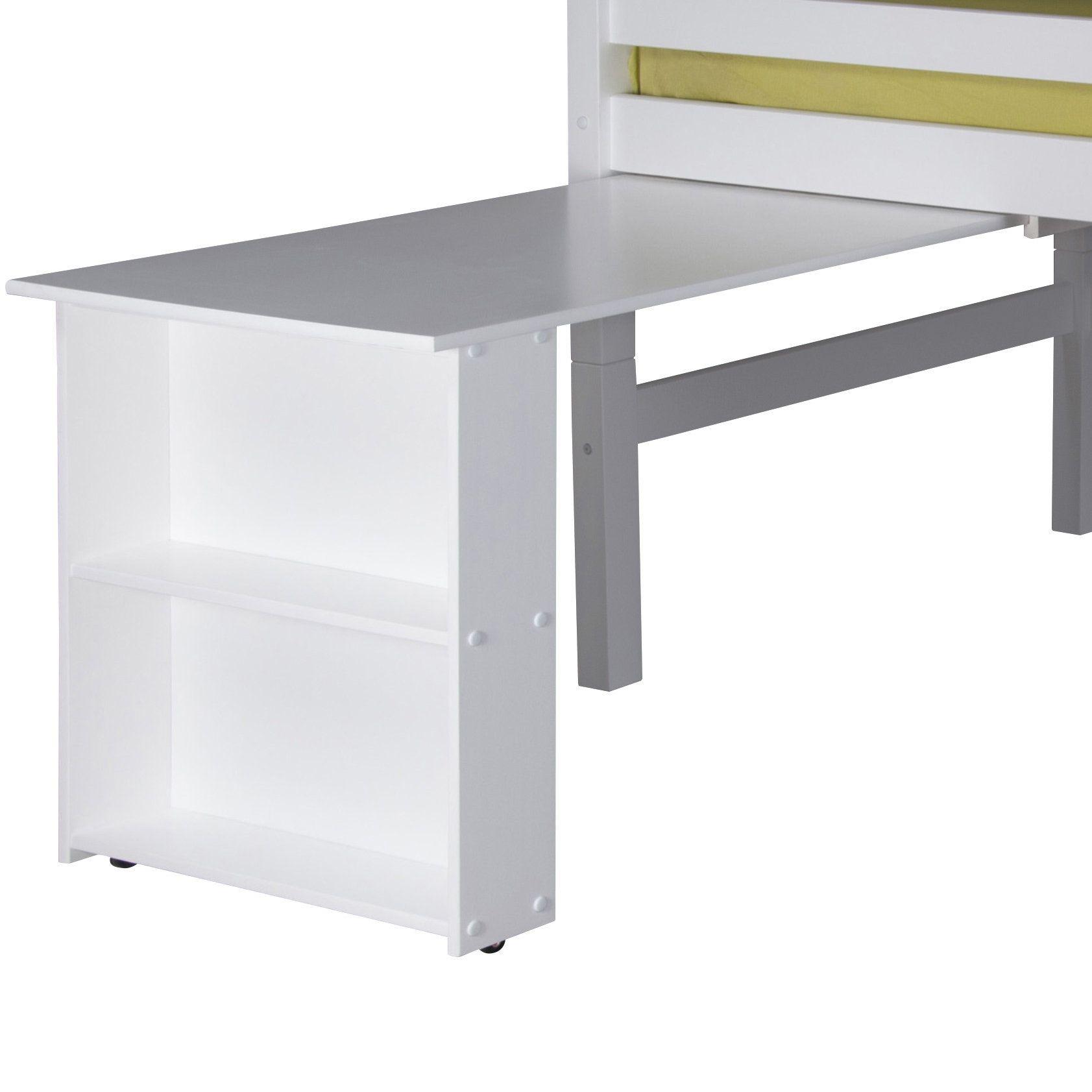 Isabelle Low Loft Bed Retractable Desk Products Low