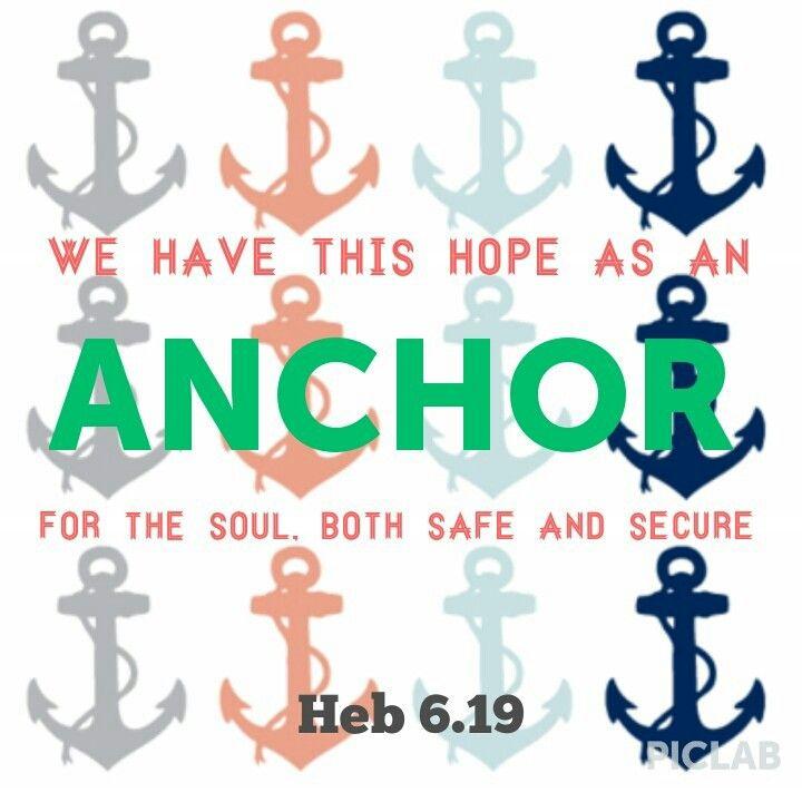 #anchor #hope #bible #verse #quote #safe #secure #Jesus #myGod Hebrews 6:19