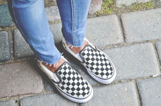 6a9a248a10 Vans slip-on checkerboard authentic