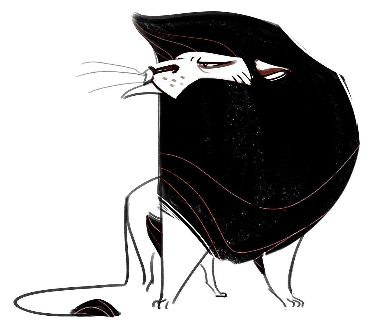 lion sketch character design references