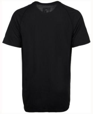 adidas Men's Houston Rockets Huge Preferred Climalite T-Shirt - Black L