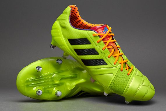 adidas football boots adidas nitrocharge 1.0 xtrx sg soft ground soccer cleats solar slime black sol